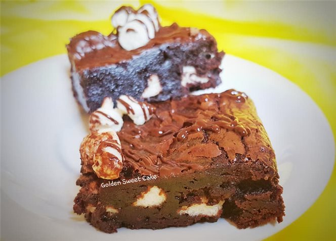 Mashmello Chewy Brownie Recipes